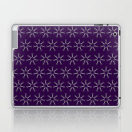 Scissors Star (royal purple) Laptop & iPad Skin