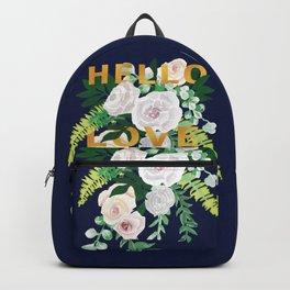 Hello Love Backpack