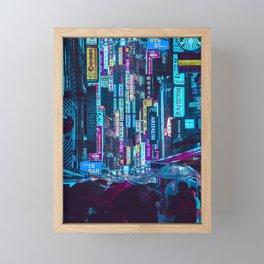 Myeongdong Lights Framed Mini Art Print