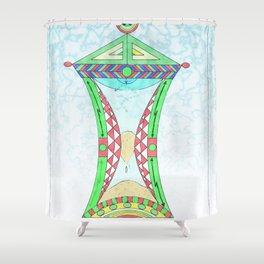 El tiempo en honor a Salvador Dalí Shower Curtain