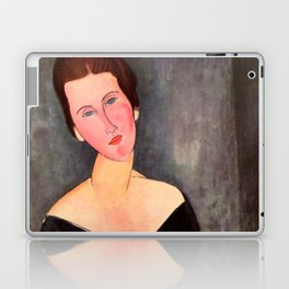 "Amedeo Modigliani ""Portrait of Madame Georges Van Muyden.jpg Laptop & iPad Skin"