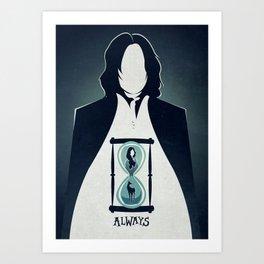 Snape Tribute.  Art Print