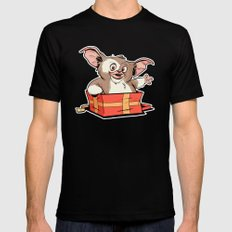 Gizmo Gift Mens Fitted Tee LARGE Black