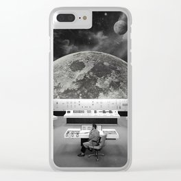 Calling for Help Clear iPhone Case