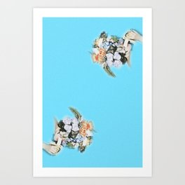 banana ladies Art Print