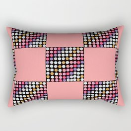 Checker Disco Rectangular Pillow