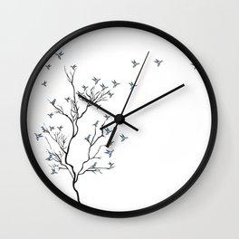The Bird Tree Wall Clock