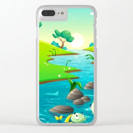 River of Chiller Clear iPhone Case