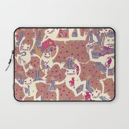 The orchard is such a very silly place Laptop Sleeve