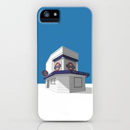 Trinity Road (Tooting Bec) iPhone Case