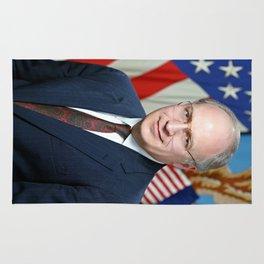 Official portrait of Secretary of Defense Richard B. Cheney Rug