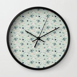 Waffle Time Wall Clock