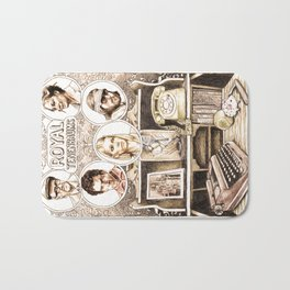 The Royal Tenenbaums by Aaron Bir Bath Mat