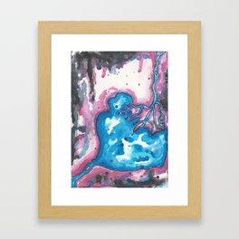 2.3 billion gallons of raw sewage Framed Art Print