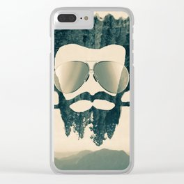 Nature Man Clear iPhone Case