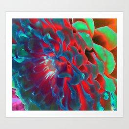 Flower of a Different Colour  Art Print