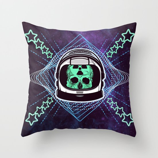 Lonely Traveller  Throw Pillow