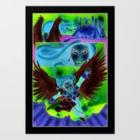 Reclamation #1 Page 1 Art Print