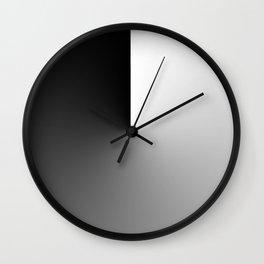 Shade Black Wall Clock