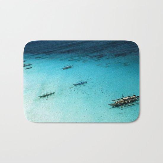White Beach Boracay Bath Mat