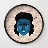 seinfeld Wall Clocks featuring Elaine Benes - Seinfeld by Kuki