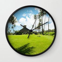 Lanakila 'ihi'ihi O Iehowa O Na Kaua Church Keanae Maui Hawaii Wall Clock