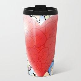 Catty Heart Travel Mug