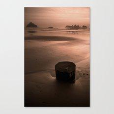 bandon beach. Canvas Print