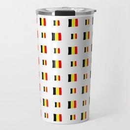 Flag of belgium 8 handmade Travel Mug