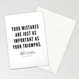 88  | Mel Robbins Quotes | 190802 Stationery Cards