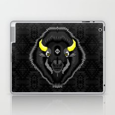 Geometric Bison Laptop & iPad Skin