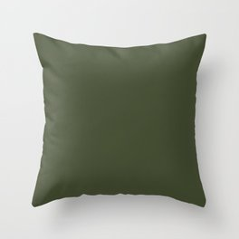Cedar Creek ~ Moss Green Throw Pillow