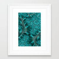 underwater Framed Art Prints featuring Underwater by Steve Purnell