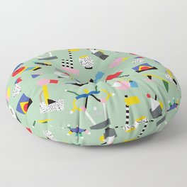 Memphis Milano Sculpture Garden Floor Pillow