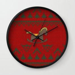 Children's rocking Horse Wall Clock