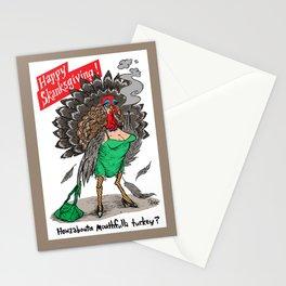 HAPPY SKANKSGIVING! Stationery Cards