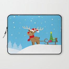 reindeer Laptop Sleeve