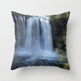 Koosah Falls No. 3 Throw Pillow