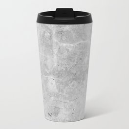 Gray Concrete Travel Mug