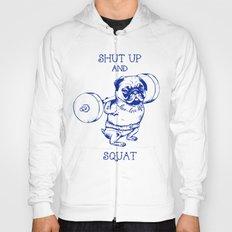 Pug Squat Hoody