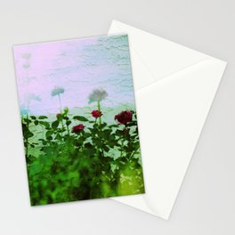 Psychedelic Flowers Stationery Cards