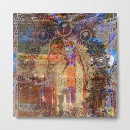 Experiment Interrupted Metal Print