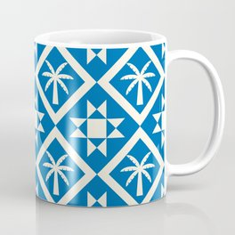 Bohemian Geometric Pattern 04B Coffee Mug
