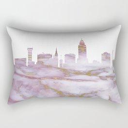 Lincoln Skyline Nebraska Rectangular Pillow