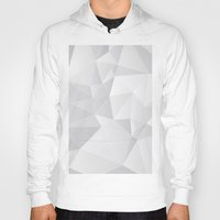 triangles Hoodies featuring Triangles by By Nordic
