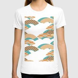 Geometry wind pattern T-shirt