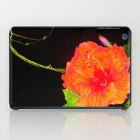 hibiscus iPad Cases featuring Hibiscus by Iris V.