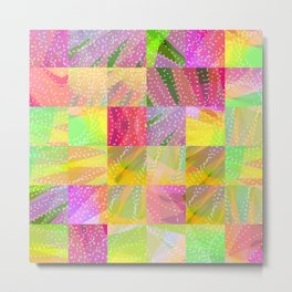 Colorful Summer Party Fun Time Metal Print