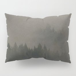 Autumn Moods Aged Photo Print Pillow Sham