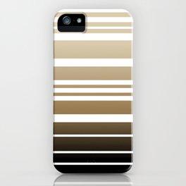 Bay Ombre Stripe: Neutral iPhone Case